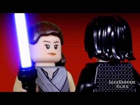 LegoGraphic Films | Lego Star Wars | Rey & Ben Solo Vs Praetorian Guards