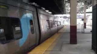 Two Acela Express Trains at Newark Penn Station