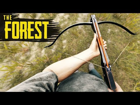 How To GET THE CROSSBOW! The Forest Tutorial