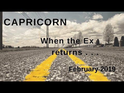 CAPRICORN: When the Ex returns  . . . February 2019