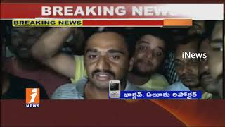Police Beats Up Youth at Perupalem Beach | High Tension at Mogaltur Police Station | iNews