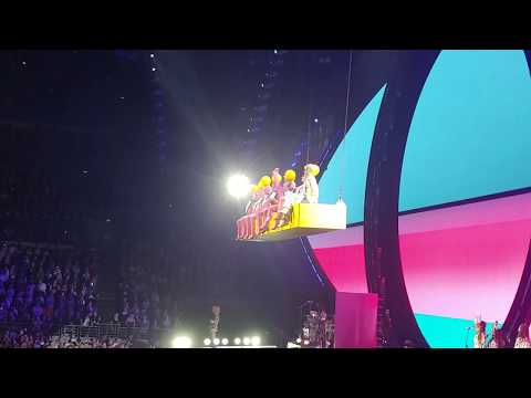 Katy Perry Witness Tour - Teenage Dream - Sydney 14/8/18