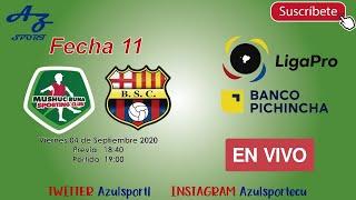 Sigue en vivo el partido por la fecha 11 de liga pro mushuc runa vs barcelona (audio) si deseas apoyar a este canal lo puedes hacer link: https...