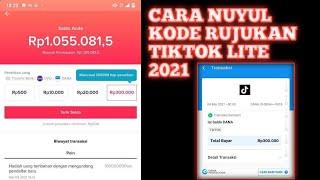 Cara Nuyul Reff Tiktok Lite Dengan App Cloner Terbaru 2021 Youtube