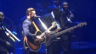 """Justin Timberlake singing NSYNC """"Gone"""" @ BB&T Center 3/4/14"""