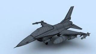 Fighter plane Modeling in 3ds max Part 1