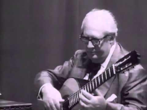 Segovia Masterclass J.S.Bach: Ciaccona Brigitte Zaczek