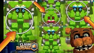 EASTER EGGS!!! SUPERCELL e SEUS MISTÉRIOS - CLASH ROYALE I five nights at freddy's