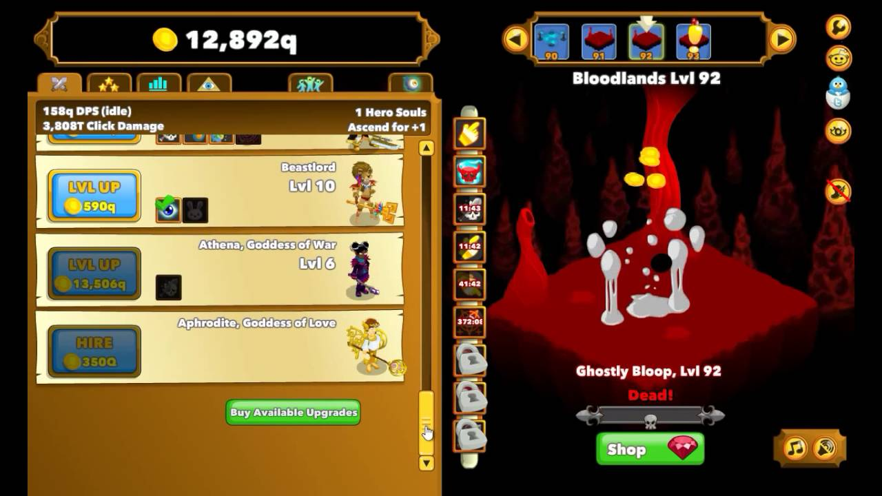 Clicker Heroes - PlaystationTrophies.org