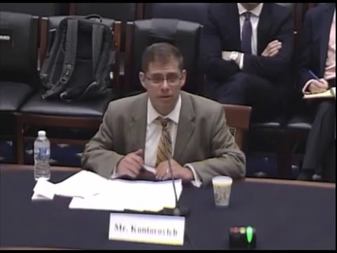 Prof. Eugene Kontorovich at the House Committee on the Judiciary May 2016