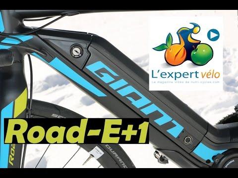 Image de la vidéo Test du vélo électrique Giant Road E+1 : Vive les cols !