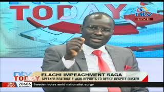 NTV Today: Speaker Elachi's impeachment saga