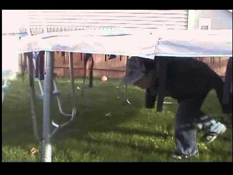 Noah Silver Choice: Under the Trampoline