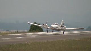 Seneca II (Piper PA-34-200T) - Pouso - (FullHD) SBBI - Curitiba-PR