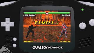 MK Emulation - Mortal Kombat: Tournament Edition For Game Boy Advance