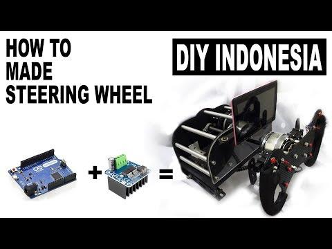 Cara Membuat Steering Wheel PC   DIY Sim Racing Homemade - Part Teaser..