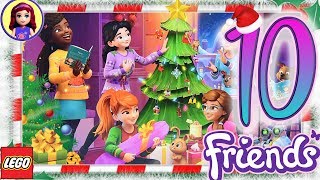 Day 10 Build your Christmas Tree Decorations   Lego Friends Advent Calendar 2018
