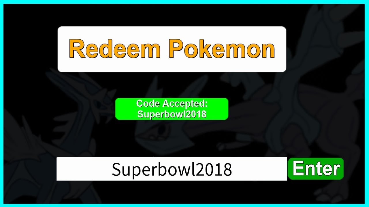 Mystery Gift Codes For Roblox Project Pokemon