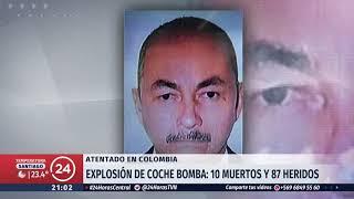 Identifican Al Autor De Atentado Con Coche Bomba En Colombia