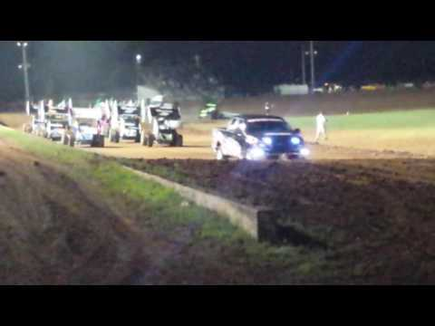 2nd OCRS night at the Lawton Speedway 5/4/2016