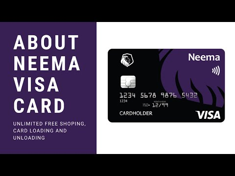 UPDATED || ABOUT NEEMA VISA CARD ||  APPLYING || ACTIVATION  --- ENGLISH VERSION