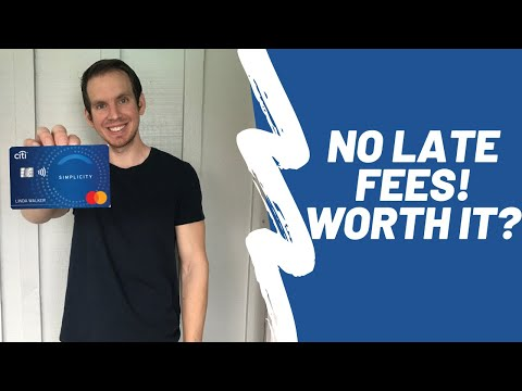 Citi Simplicity Card Review | Citi Credit Card With NO Late Fees Worth It?!