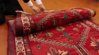 絨毯のある暮らし◆ペルシャ絨毯ハマダン製172㎝手織りTPRL8552