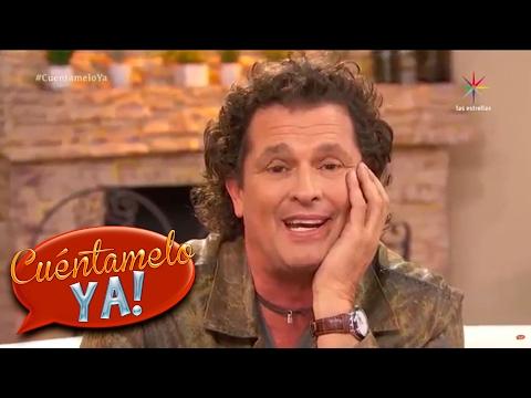 Carlos Vives presenta  Al filo de tu amor  Cuéntamelo YA!