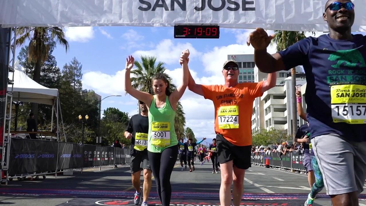 ca3c3487415 2018 Michelob Ultra Rock  n  Roll San Jose Half Marathon - YouTube