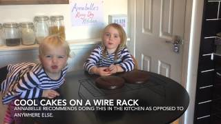 How To Make Chocolate Coconut Cake Paleo Diet Gluten Dairy Free - Annabelle's Rainy Day Kitchen