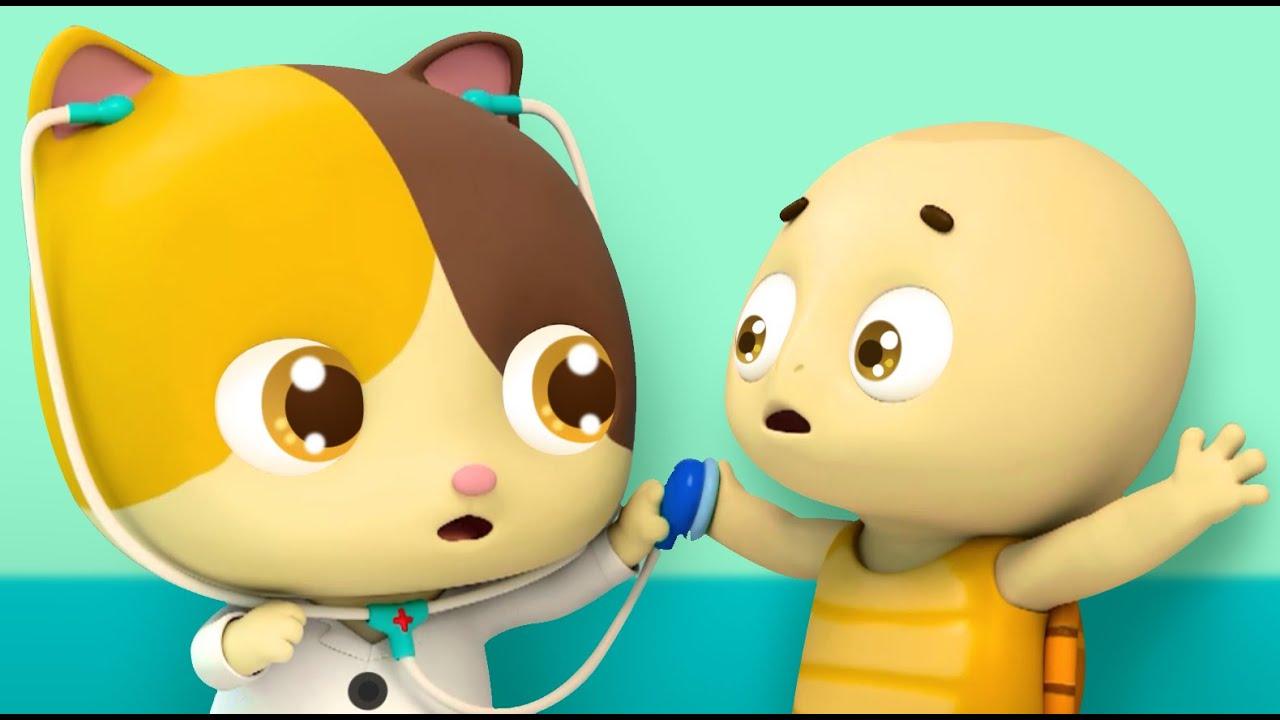 Gatita Mimi En Hospital Dibujos Animados Infantiles