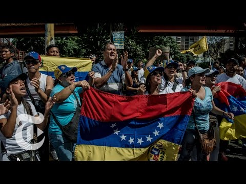 Violent Protests In Venezuela | The New York Times