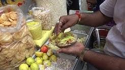Kolkata Spicy Papri Chaat 40 Rs & Aloo Channa Chaat 10 Rs    Street Food New Market Kolkata
