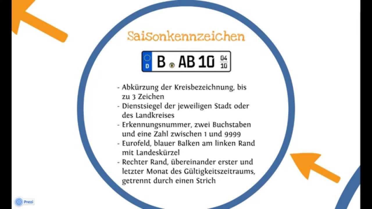 Übersicht KFZ Kennzeichen in Deutschland - Wechselkennzeichen ...