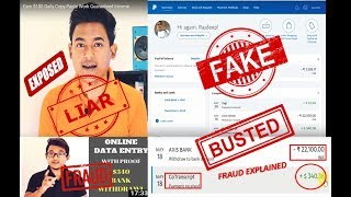 Debroy Technical LIES EXPOSED- Fake Payment proof - Copy paste - Data entry - EXPLAINED