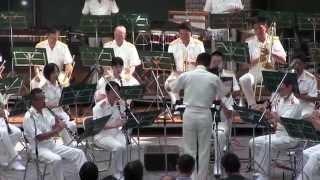 陸上自衛隊 第一音楽隊 水曜コンサート 【ノーカット】Japan Ground Self-Defense Force Musical Band Playing.
