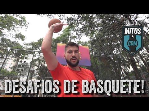 DESAFIOS DE BASQUETE -CLUBE DOS MITOS!