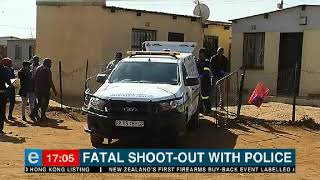 Police Shoot Out Ends In Death