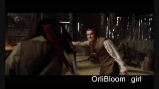Will Turner and Captain Sparrow sword fight