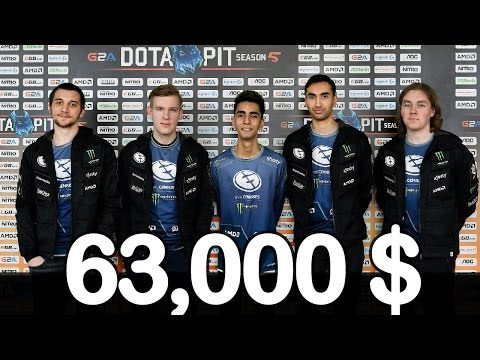 Must Watch OG vs EG #5 - BLUE vs GREEN 63000$ GRAND FINAL Dota Pit 5 Highlights Dota 2