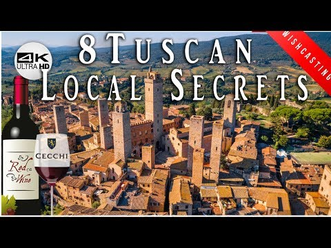 🍷-secret-guide-to-tuscany-italy:-monteriggioni,-siena,-san-gimignano-4k