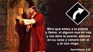 JESUS TOCA LA PUERTA DE TU CORAZON - MENSAJE DE JESUS PARA TI CON VOZ - ORACION DE ENTREGA