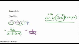 Grade 10 Algebraic Fracтions - addition and subtraction 1.mp4