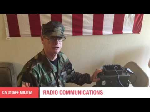 California Militia Radio Communications