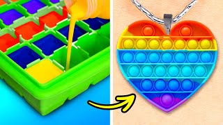 Wonderful DIY Crafts With Glue Gun, 3D-Pen, Clay And Epoxy || DIY Accessories And Mini Crafts