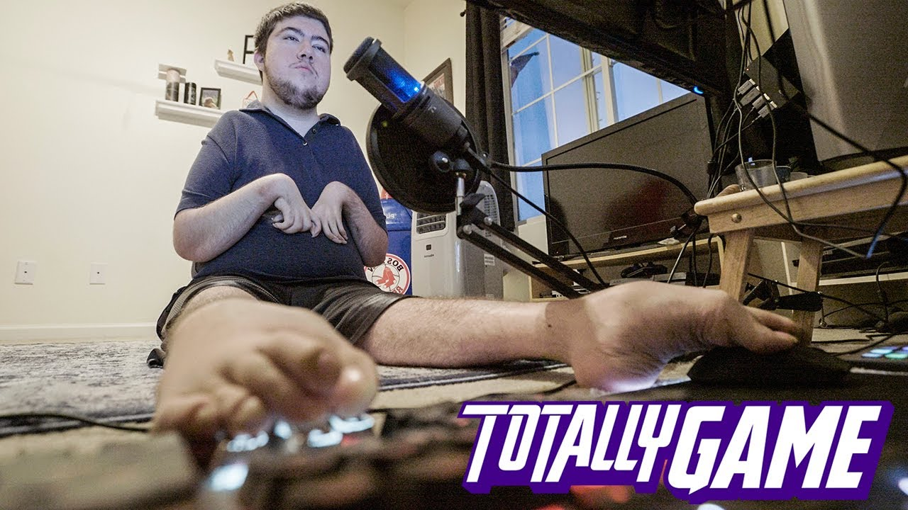 This Gamer Will Destroy You - With His Feet | TRANSFORMED