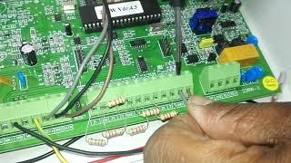 Branchement Beam sensor 2ème étape