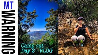 Mt Warning cycling, Camping Day 2