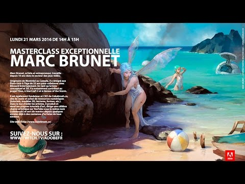 Masterclass Photoshop : Digital painting avec Marc Brunet | Adobe France