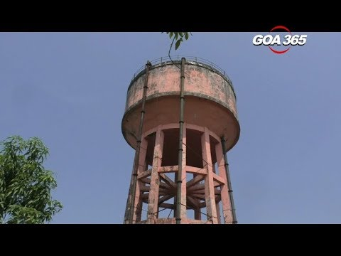 Mormugao's water tanks cry for attention